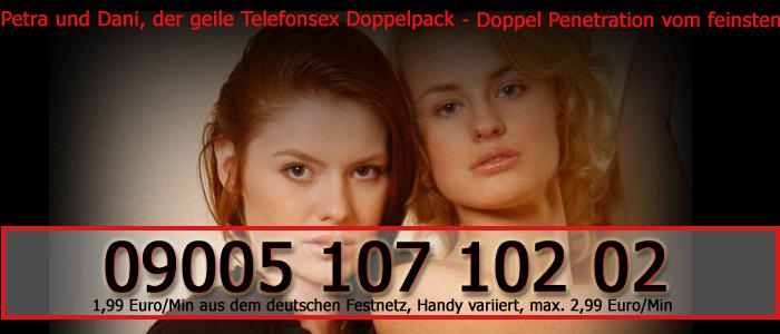 6 Lesben Duo macht eine wilde Telefonsex Orgie